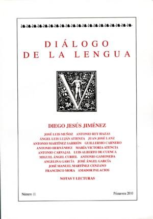 Diálogo de la lengua – nº 11