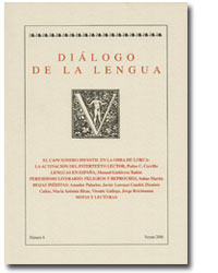 Diálogo de la lengua – nº 8