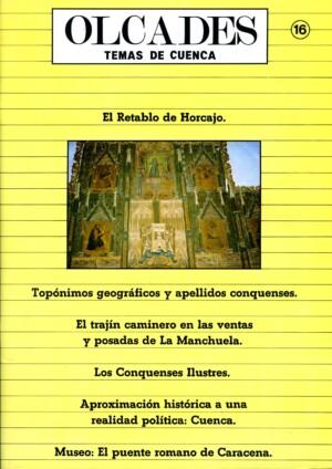 Olcades, temas de Cuenca – nº 16