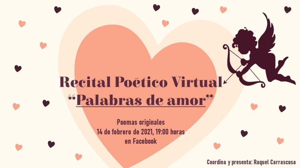 Lee más sobre el artículo Un recital poético virtual para celebrar San Valentín