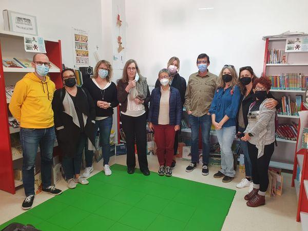 Lee más sobre el artículo Visita a la biblioteca de Villar de Olalla